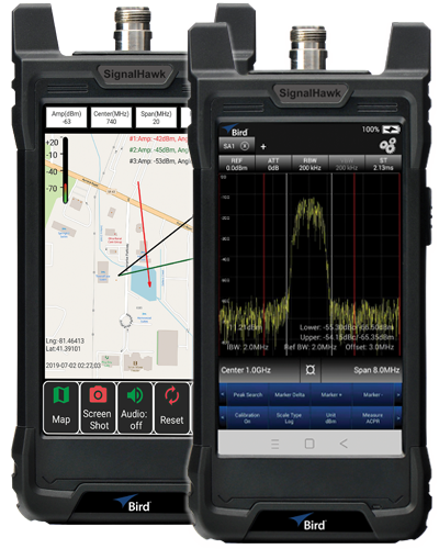 SH Series, RF Spectrum Analyzers