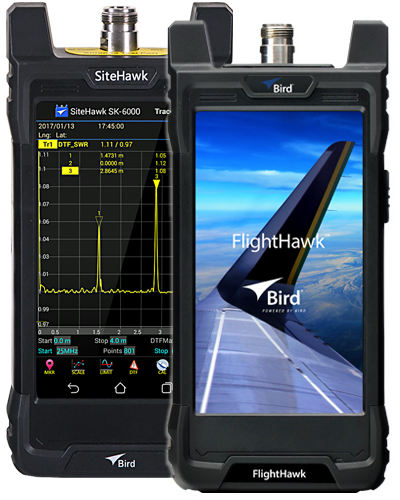Bird SiteHawk and FlightHawk Series Cable and Antenna Analyzers