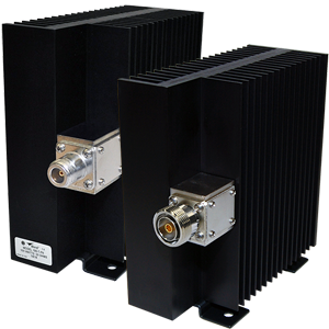 100-T Series, 100 Watt Convection-Cooled Dry RF Terminations