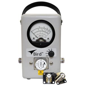 4304A, Fixed Element 25-1000 MHz RF Wattmeter | Bird - The