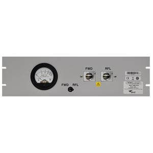 4522, Single Meter - Dual Element and Selector Switch Panel-Mount RF Wattmeter
